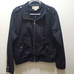 Micheal Kors XL Black Jacket